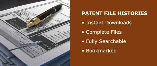 Patent File History Banner